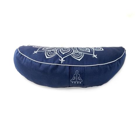 Подушка-полумесяц Mandala Blue 45*13*7 см