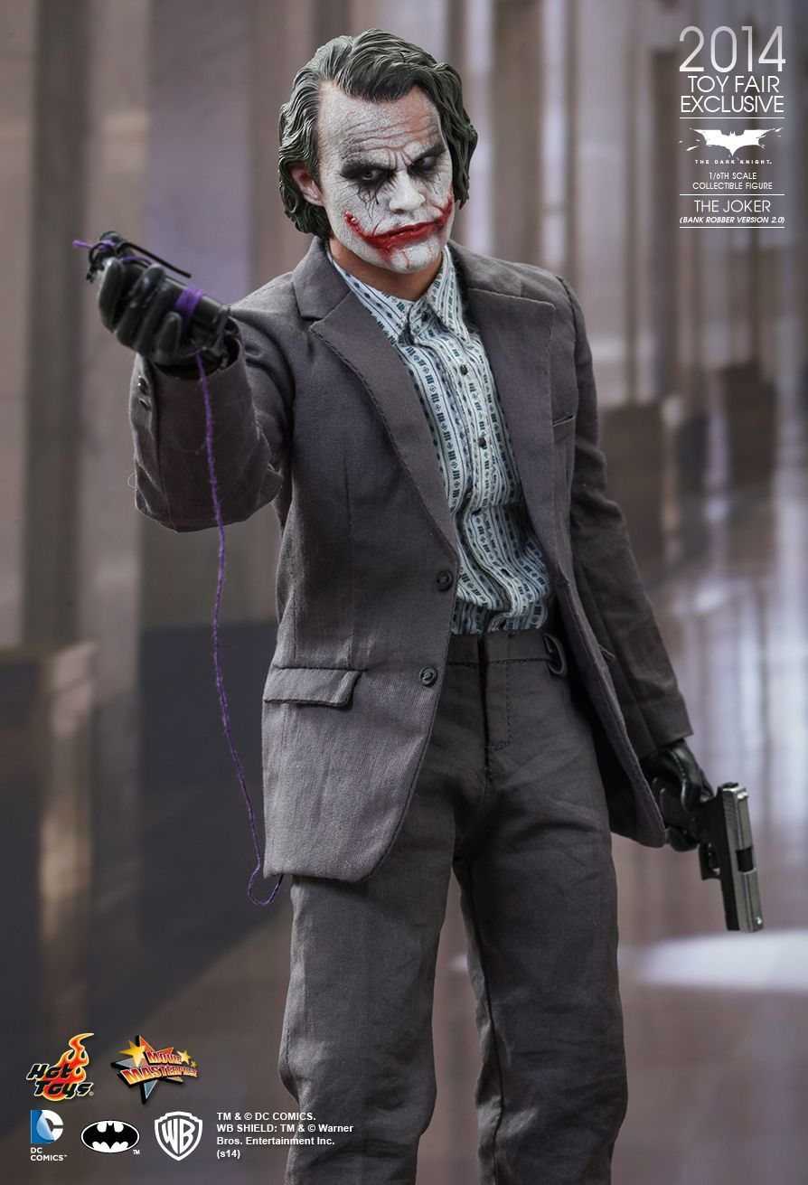 The Dark Knight The Joker (Bank Robber Version 2.0) Exclusive