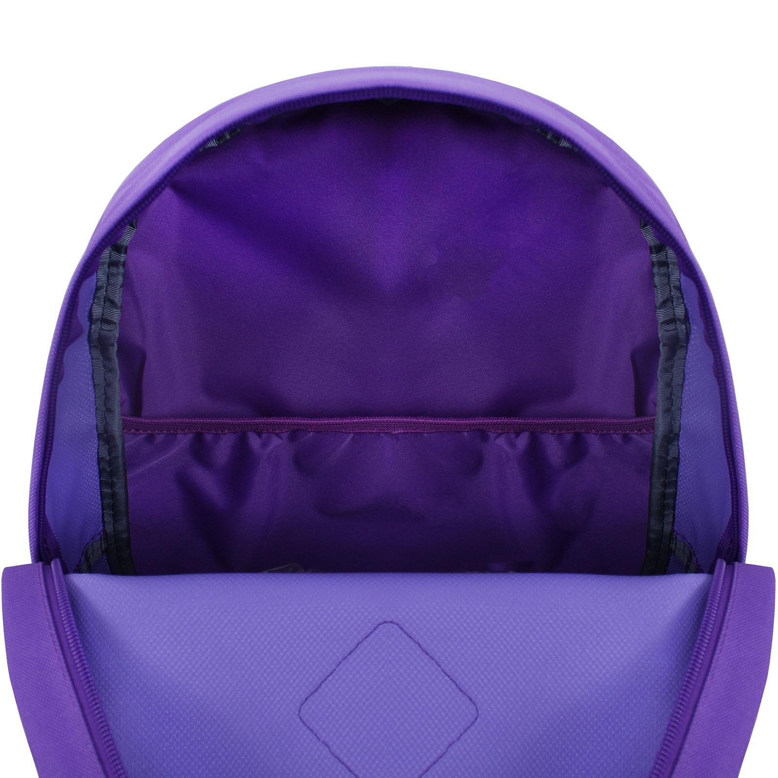 Рюкзак Bagland Молодежный W/R 17 л. 339 Фиолетовый 745 (00533662) фото 5