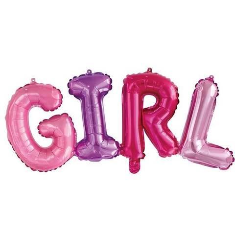 Буквы GIRL