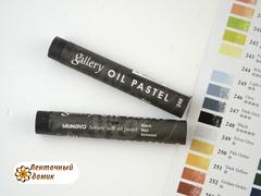 Профессиональная мягкая масляная художественная пастель № 248 Black(поштучно)