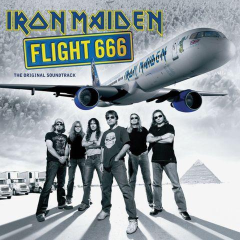 Виниловая пластинка. Iron Maiden — Flight 666