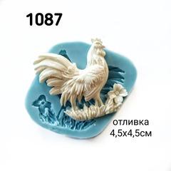 1087 Молд силиконовый. Петух.