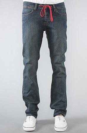 Джинсы на шнурке мужские зауженные фото 1