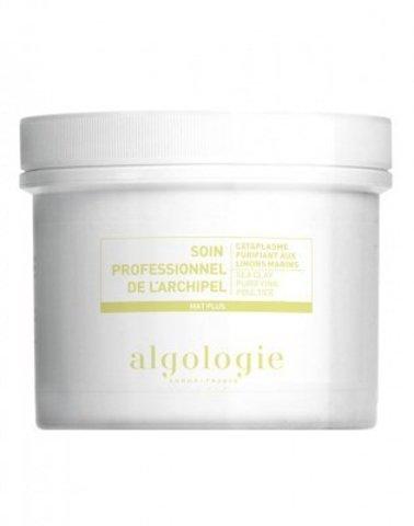 Очищающая маска-компресс с морской глиной для жирной и смешанной кожи Algologie,140 г