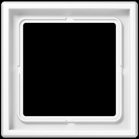 Рамка на 1 пост. Цвет Белый. JUNG LS 990. LS981WW