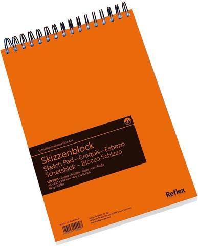 Альбом для графики Sketch Pad 90г/м2 21*29.7см 120л спираль по короткой стороне