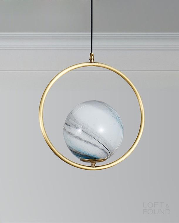 Подвесной светильник Lampatron style Hoop Planet