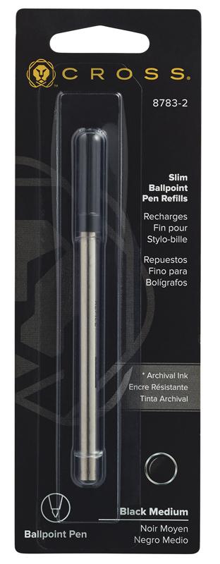 Cross Стержень шариковый для ручки Click, M, черный