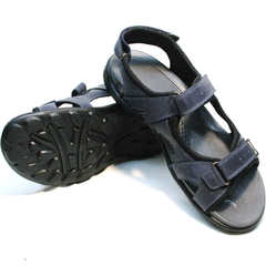 Босоножки на липучках сандалии мужские спортивные Mi Lord 2066EKO Blue