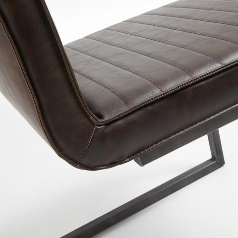 Стул Type металлический темно-коричневый