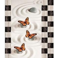 Ламинат SPC Novita 3D Бабочки 8 панелей
