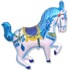 F Мини-фигура, Цирковая лошадь (синяя), 14