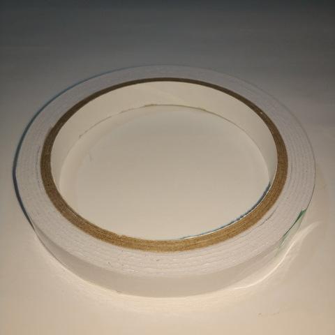 Скотч двухсторонний на полипропилене 12мм*2м. (1/25/225)