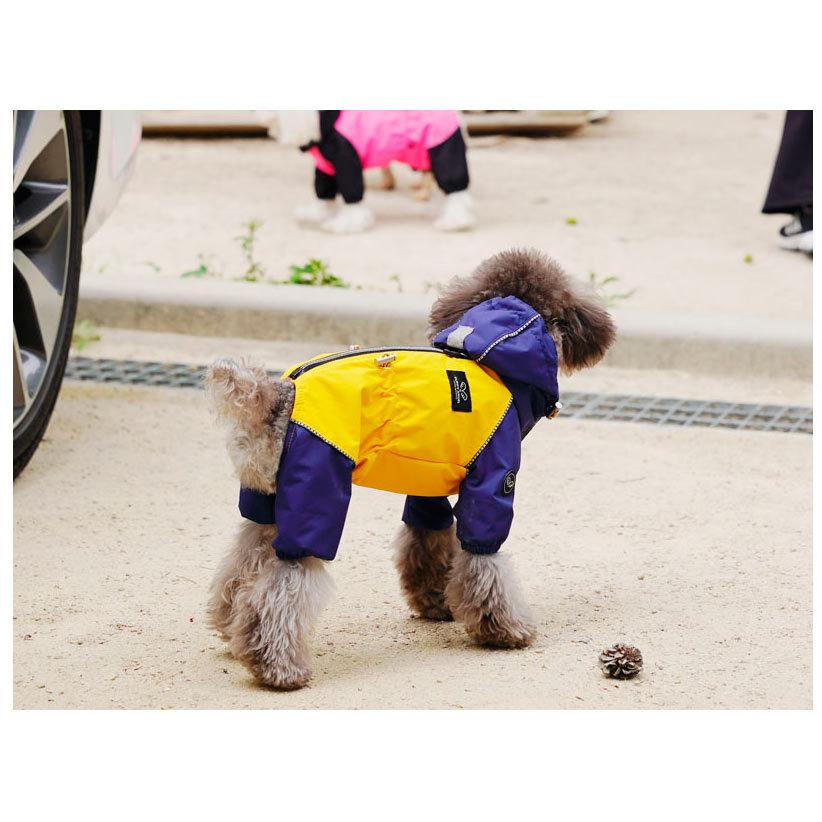 дождевик для собак мелких пород