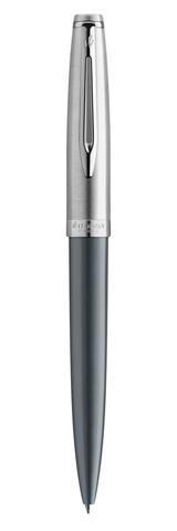 Ручка шариковая/EMBLM DLX GREY CT BP M BLU GB123