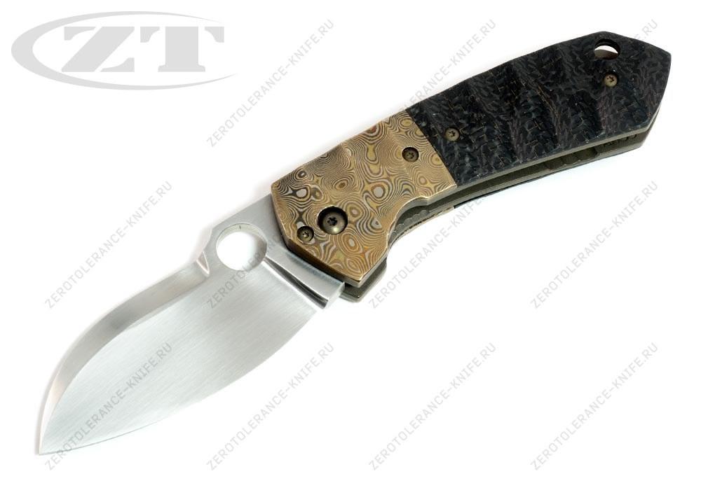Нож Mojo Mokume Custom Jens Anso