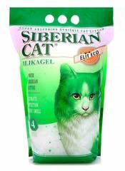 Наполнитель для кошачьего туалета, Сибирская Кошка, Элита ЭКО (зеленые гранулы)