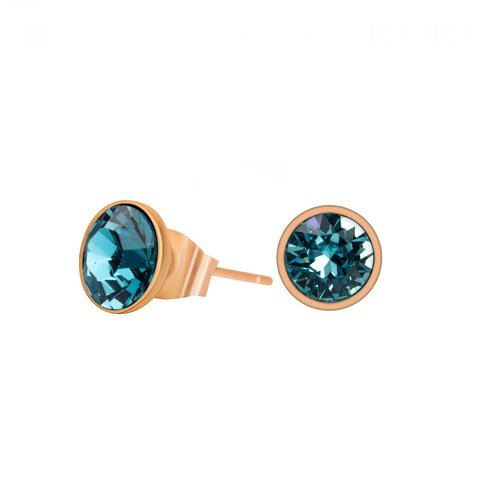 Пусеты Light Turquoise SWE298 LTU RG