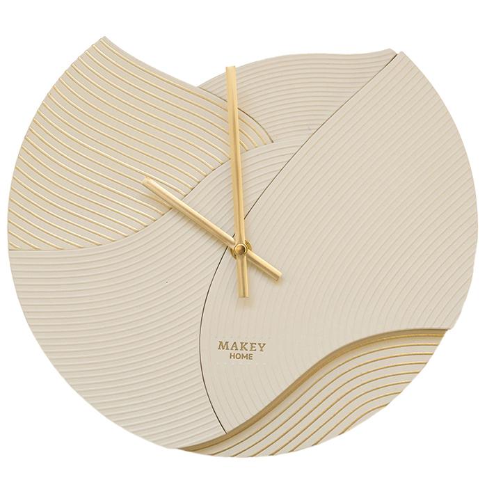 Часы настенный «Deco». Цвет молочный