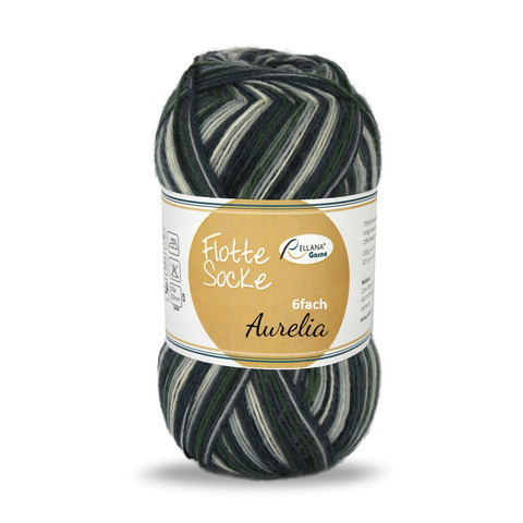 Rellana Flotte Socke Aurelia 6-ply 7072