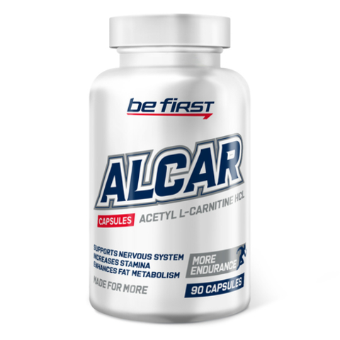 Be First Alcar (Acetyl L-carnitine), 90 капс