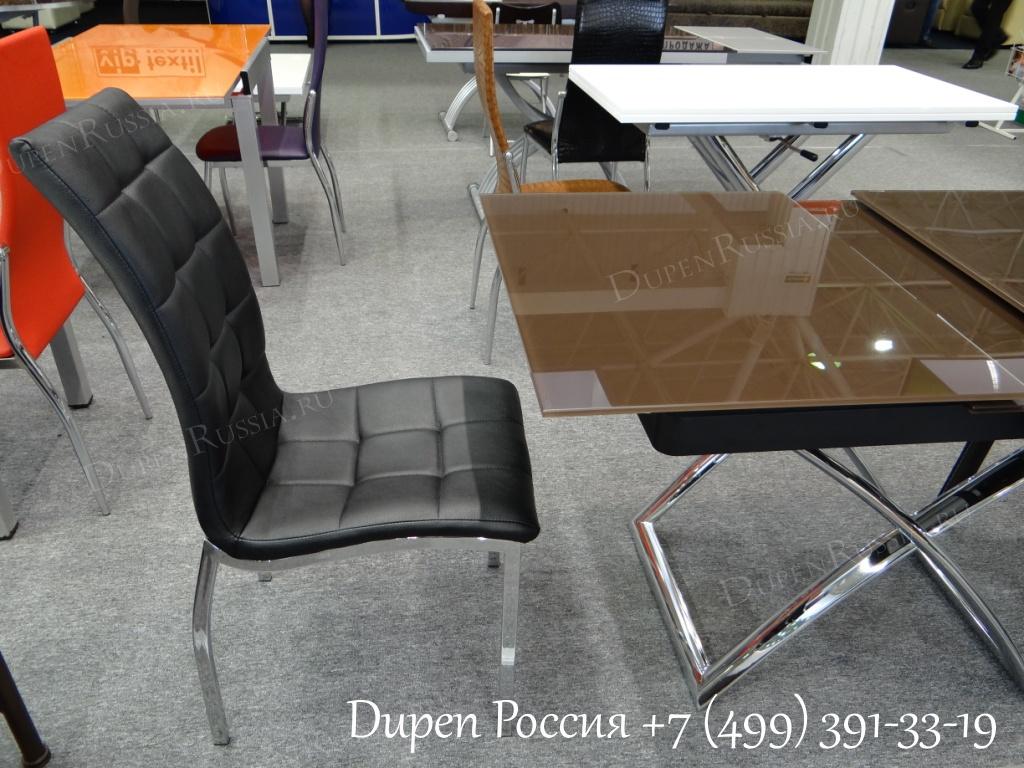 Стол ESF CT2275 кофе и Стул ESF365 черный