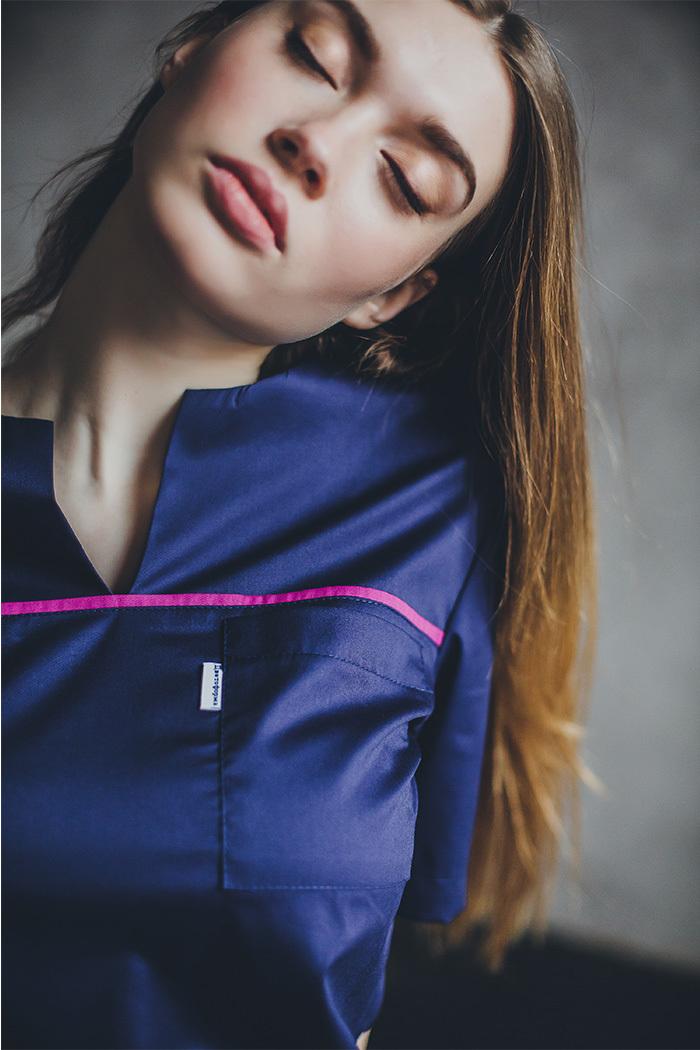 Блуза женская медицинская М 65-к