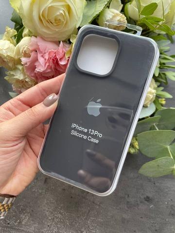 Чехол iPhone 13 Pro Max Silicone Case Full /black/