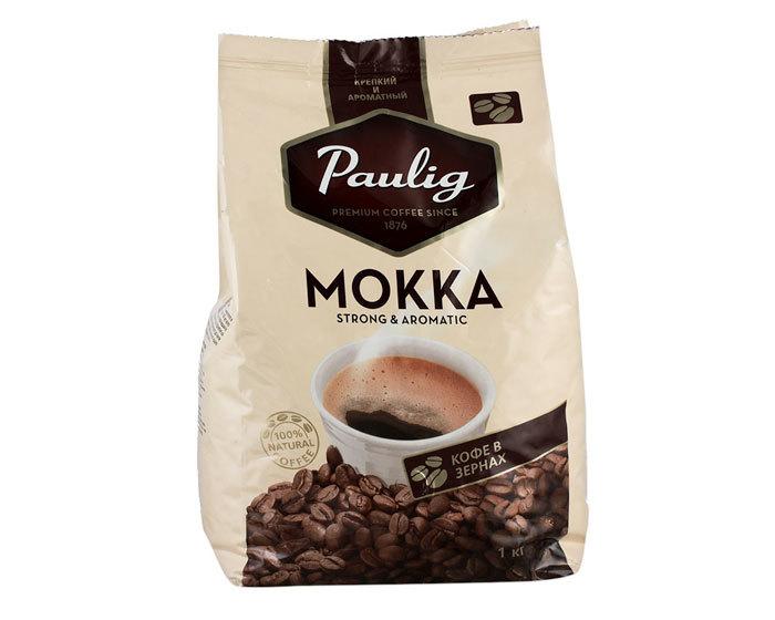 Кофе в зернах Paulig Mokka, 1 кг