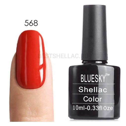 Bluesky Shellac 40501/80501 Гель-лак Bluesky № 40568/80568 Desert Poppy, 10 мл 568.jpg