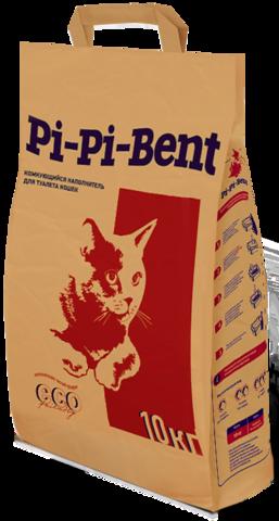 Комкующийся наполнитель Pi Pi Bent Классик (бумажный пакет)