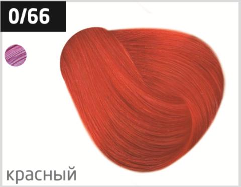 OLLIN color 0/66 корректор красный 100мл перманентная крем-краска для волос