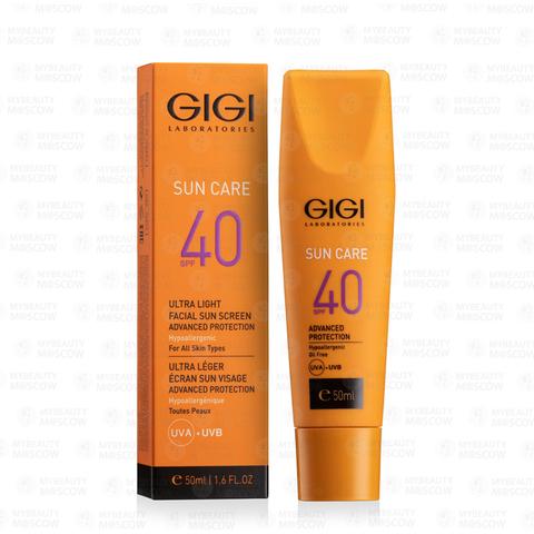 GIGI Sun Care Ultra Light Facial Sun Screen Advanced Protection SPF40