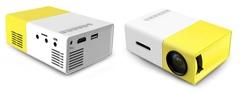 YG-300 портативный мини проектор с динамиком Led Projector желтый