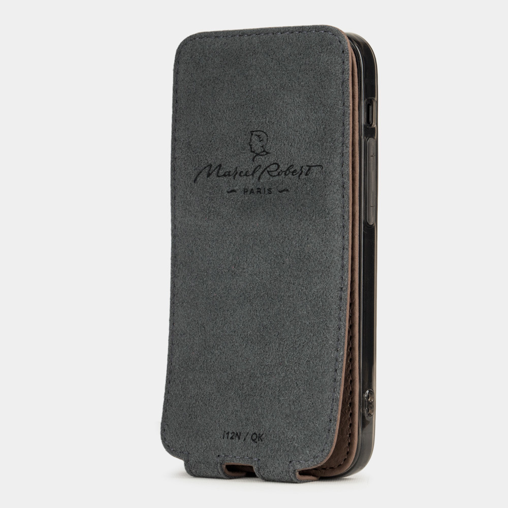 Case for iPhone 12 & 12 Pro - brown coffee