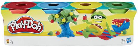 Пластилин 4 мини баночки Play-Doh 23241