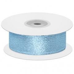 Мерцающий блеск, Голубой, Металлик, 2,5 см*22,85 м, 1 шт.