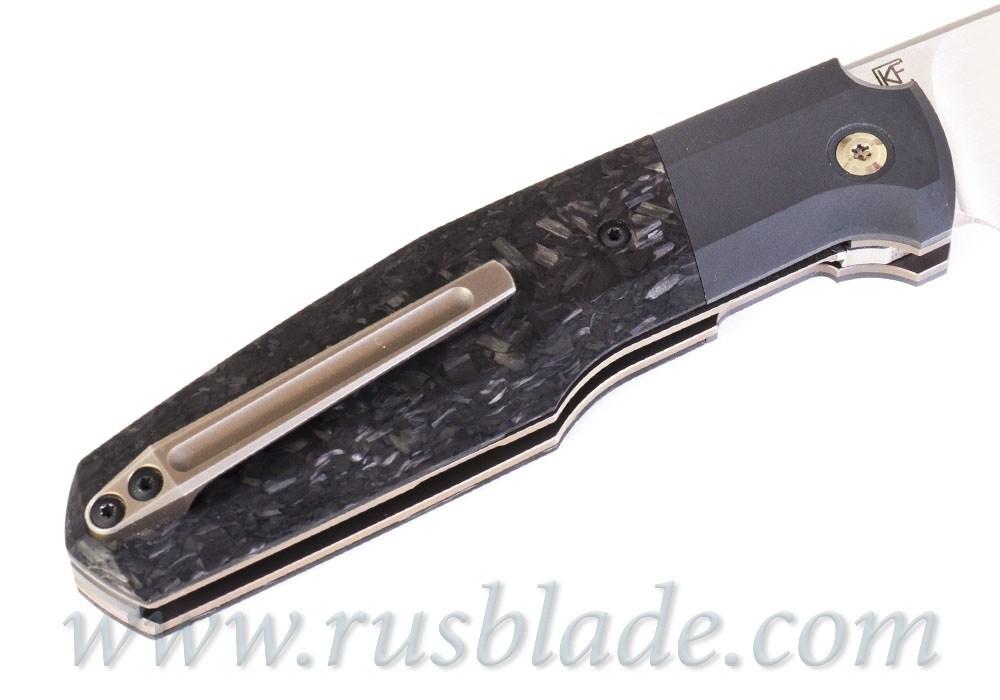 CKF/Philippe Jourget collab FIF20 knife 2020 (M390, Zirc, Marble CF) - фотография