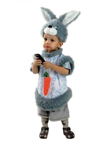 Детский карнавальный костюм Кролик Кроха