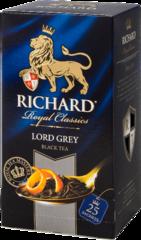 "Чай черный ""Richard"" Lord Grey 2г*25"
