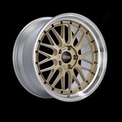 Диск колесный BBS LM 7.5x17 4x100 ET40 CB70.0 gold