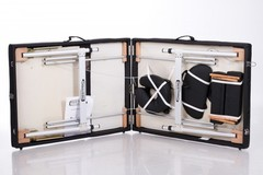 Аксессуары для Массажный стол деревянный 3-хсекционный RESTPRO ALU 3L Black