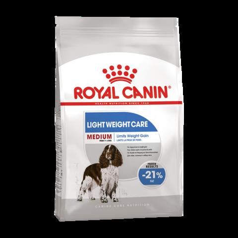 Royal Canin Medium Light Weight Care Сухой корм для собак средних пород склонных к избыточному весу
