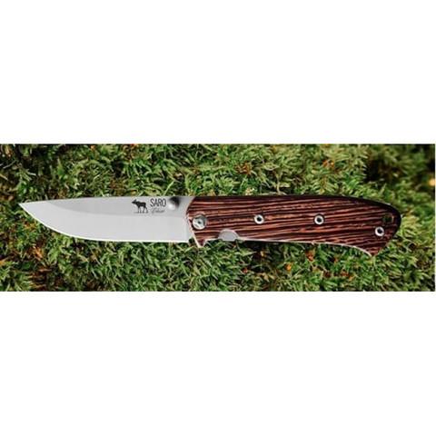 Складной нож Чиж дерево, Саро