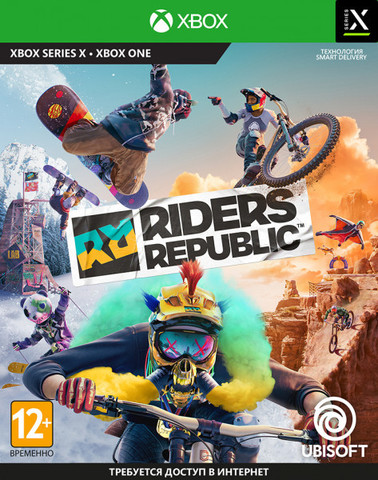 Riders Republic (Xbox, русские субтитры)