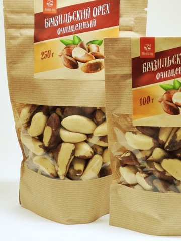 Бразильский орех очищенный, 100 г