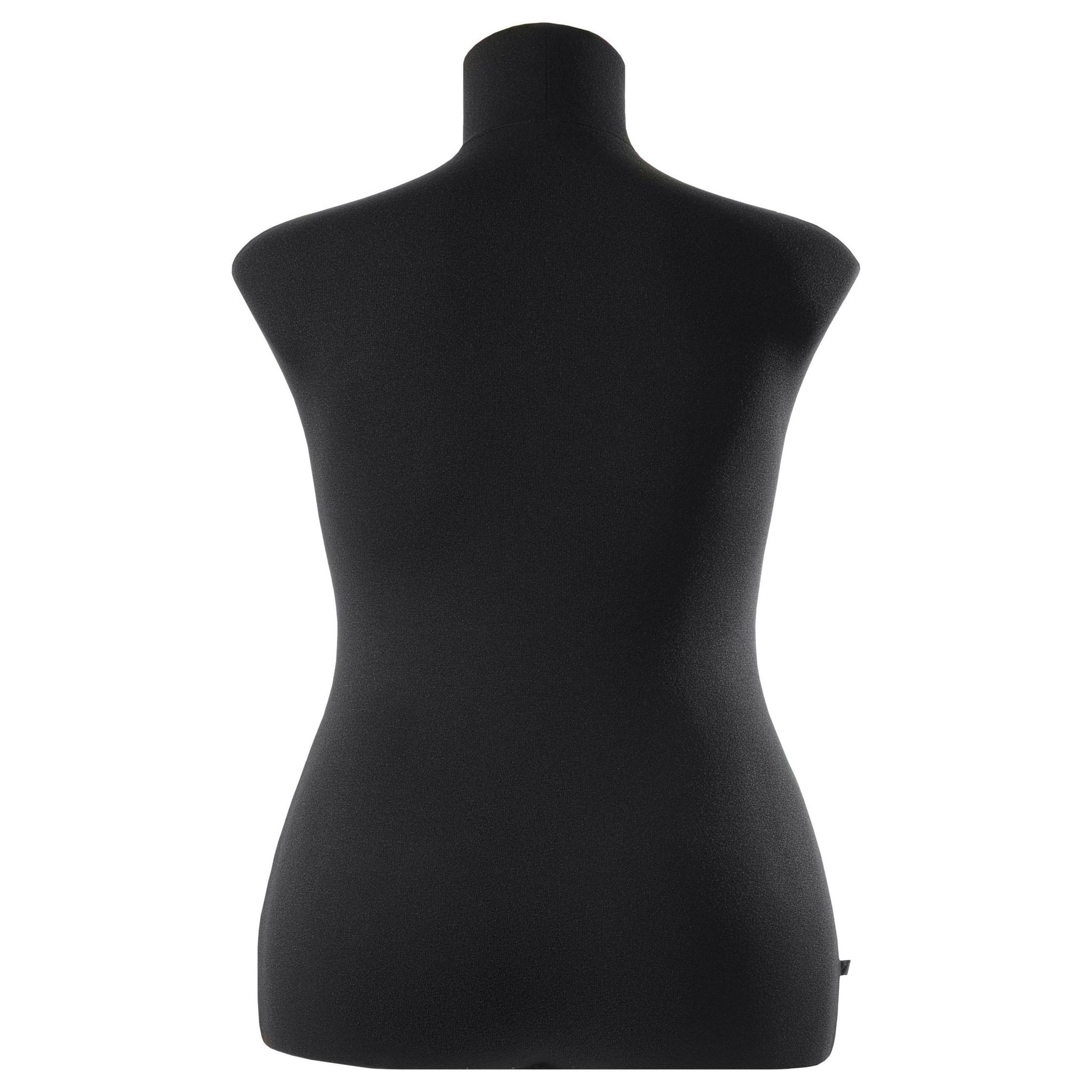 Манекен портновский Кристина, комплект Стандарт, размер 52, ЧерныйФото 1