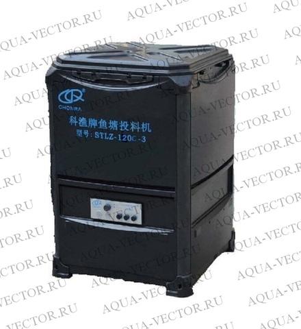 Прудовая автоматическая кормушка для рыб на 80кг, 180Вт (STLZ-150C-3)
