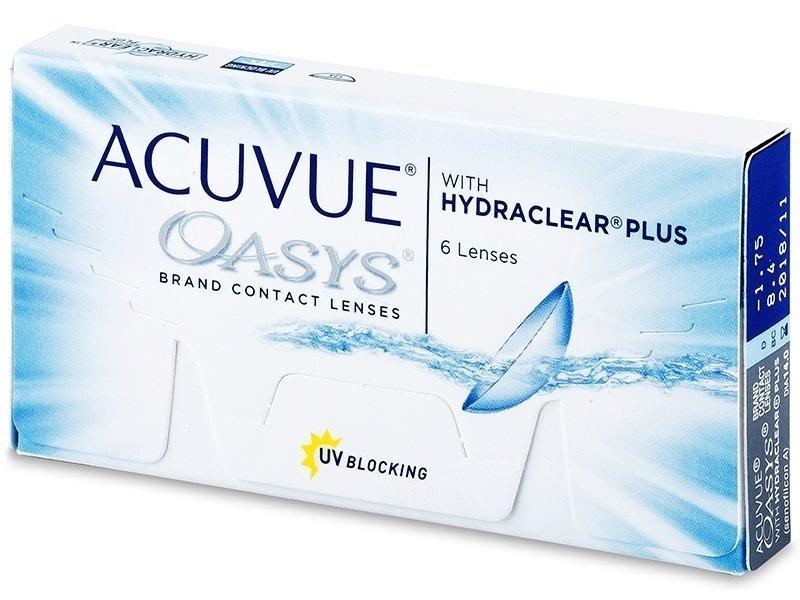 НАБОР ПОВСЕДНЕВНЫЙ линзы Acuvue Oasys (6 шт) + ReNu MultiPlus (120 ml)